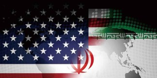 Us Iran Conflict And Sanctions Or Agreement. Trade Deals And Crisis Or Tension