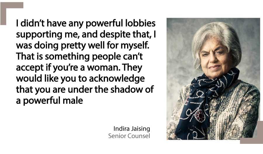 Indira Jaising Senior Counsel