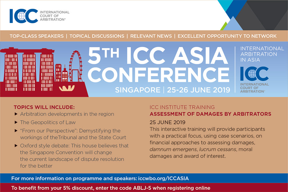 Title 5th ICC Asia Conference on International Arbitration