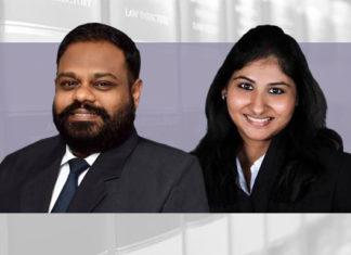 Karthik Somasundram and Sneha Jaisingh Bharucha & Partners April
