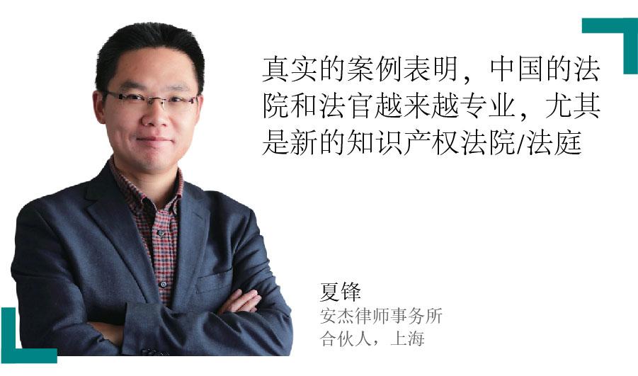 夏锋 Jerry Xia 安杰律师事务所 合伙人,上海