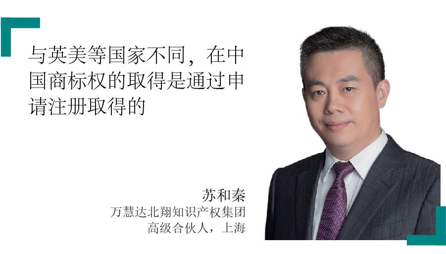 苏和秦 Jack Su 万慧达北翔知识产权集团 高级合伙人,上海