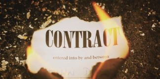 Definition of invalid contract by Zhang Jiechao and Terence Xu