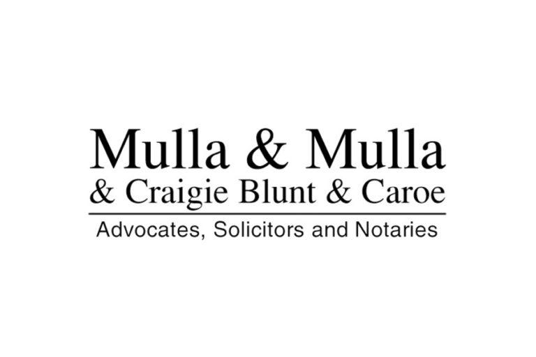 Mulla & Mulla & Craigie Blunt & Caroe - Mumbai - India Law Firm Directory - Profile