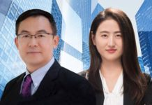 Tim Meng and Shirley Yan