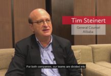 Alibaba GC Tim Steinert on Legaltech