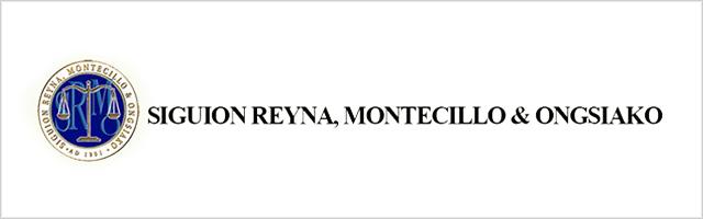 Siguion Reyna Montecillo & Ongsiako 2019