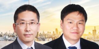 Two patent partners Li Yang and Jiang Tao join Twelve Tables Law Firm