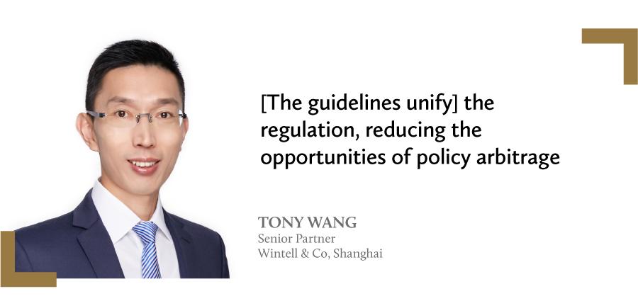 王同海 Tony Wang 瀛泰律师事务所 Wintell & Co