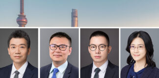 CM Law Firm shanghai Li Rui, Wang Shaokai, Jiang Junfeng, Wang Yuting