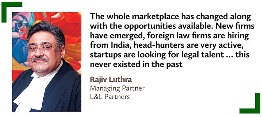 Rajiv Luthra,Managing Partner,L&L Partners