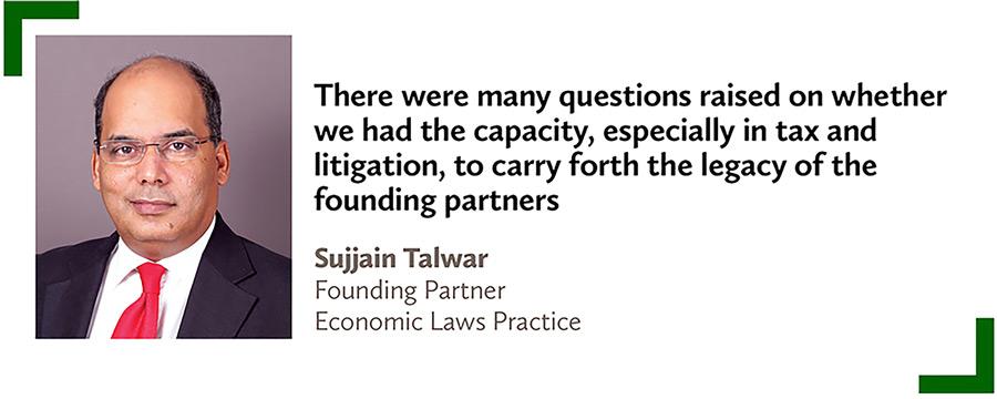 Sujjain Talwar,Founding Partner,Economic Laws Practice