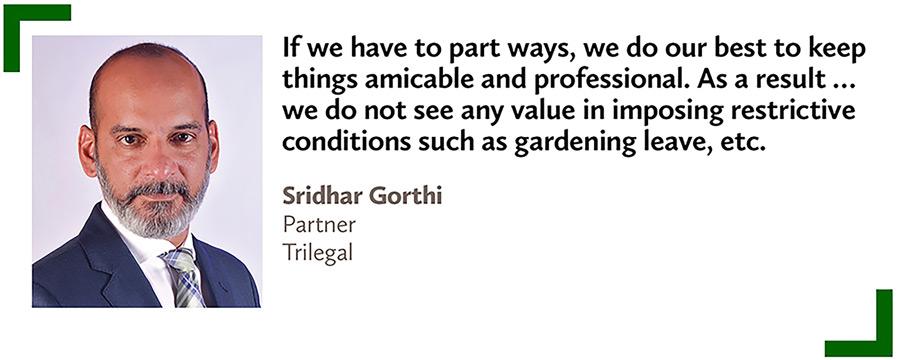 Sridhar Gorthi,Partner,Trilegal