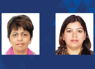 Priti Suri and Safeena Mendiratta, PSA