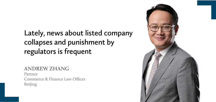 Andrew Zhang Partner Commerce Finance Law Offices Beijing