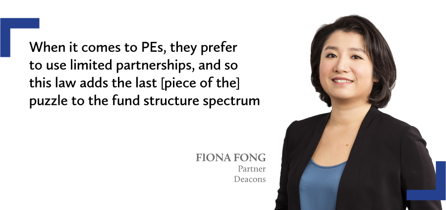 fiona fong limited partnership fund ordinance deacons