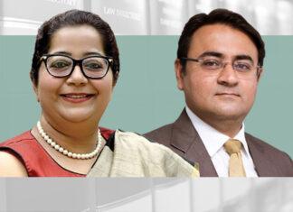 Shweta Bharti and Shantanu Malik,Hammurabi & Solomon awards enforcement