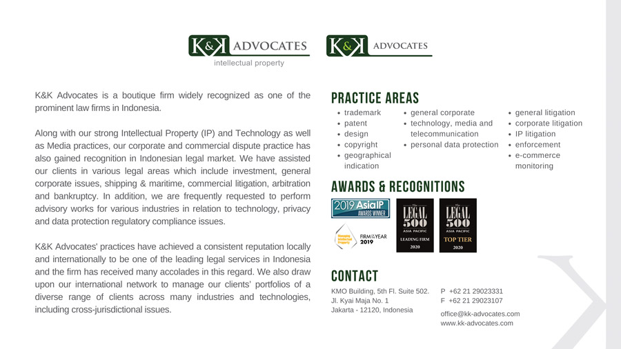 K&K Advocates indonesia law firm