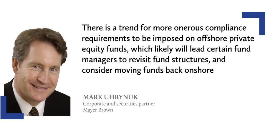 mark uhrynuk limited partnership fund ordinance mayer brown