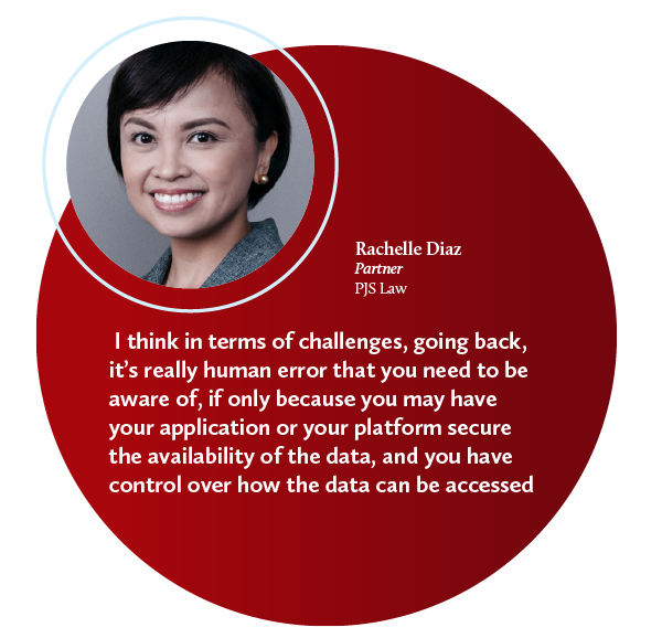 rachelle diaz data protection cybersecurity