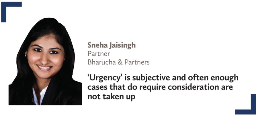 Virtual court,Sneha Jaisingh