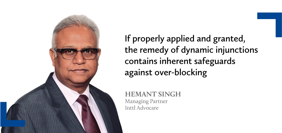 dynamic injunctions against IP infringers