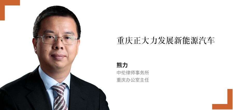 熊力,-中伦律师事务所,-重庆办公室主任