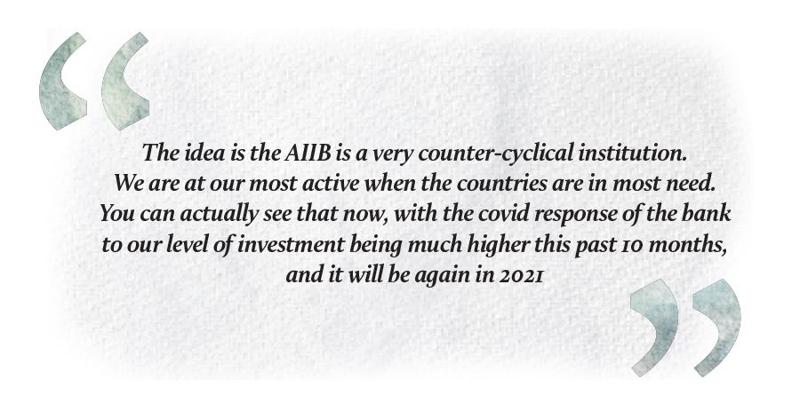 AIIB gerrad sanders