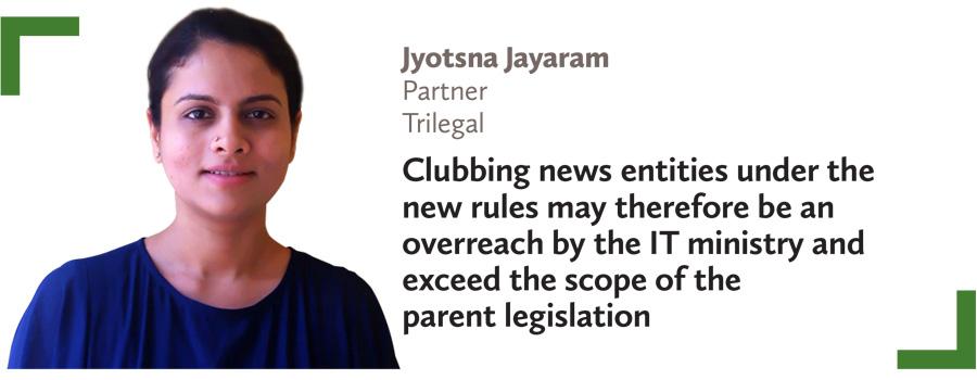 Jyotsna Jayaram,Partner,Trilegal