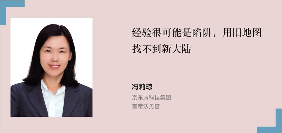 冯莉琼,-京东方科技集团,-首席法务官
