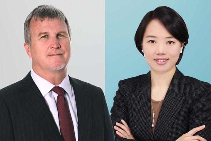 HFW makes Shanghai hires, Left-Brinton Scott, Right-Danielle Peng