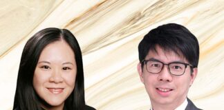 Left-Roberta Chang, Right-Eugene Yeung