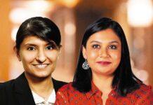 Left-Sheila Ahuja, Right-Pallavi Gopinath Aney